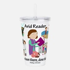 Avid Reader Acrylic Double-wall Tumbler