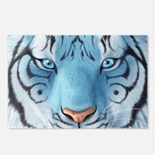 Fantasy White Tiger Postcards (Package of 8)