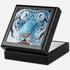 Fantasy White Tiger Keepsake Box