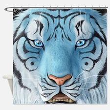 Fantasy White Tiger Shower Curtain