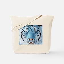 Fantasy White Tiger Tote Bag