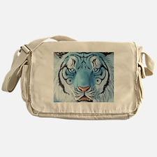 Fantasy White Tiger Messenger Bag