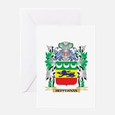 Heffernan Coat of Arms (Family Cres Greeting Cards