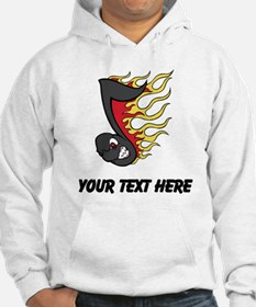Fiery Music Note (Custom) Hoodie