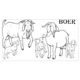 Boer goat Wrapped Canvas Art