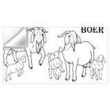 Boer goat Wall Decals