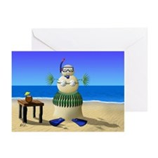 Sand Babe Christmas Greeting Cards (Pk of 20)