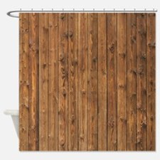 KNOTTY WOOD Shower Curtain