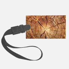CROSS SECTION OF AN OLD TREE Luggage Tag