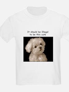 Cute Maltese art T-Shirt