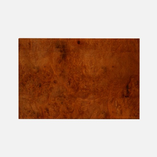 BURL OAK Rectangle Magnet