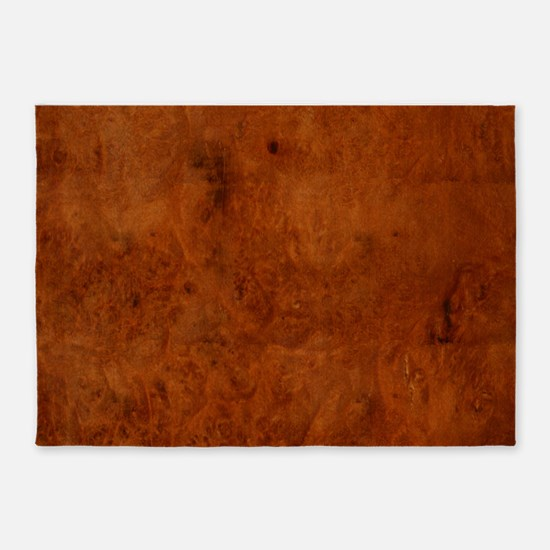 BURL OAK 5'x7'Area Rug
