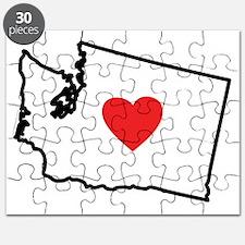 I Love Washington Puzzle
