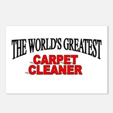 """""""The World's Greatest Carpet Cleaner"""" Postcards (P"""