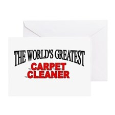 """""""The World's Greatest Carpet Cleaner"""" Greeting Car"""