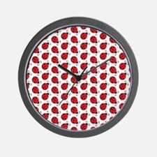 Special Ladybugs Wall Clock