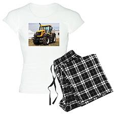 Black & yellow tractor Pajamas