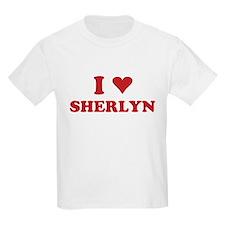 I LOVE SHERLYN T-Shirt