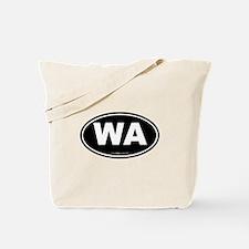 Washington WA Euro Oval Tote Bag