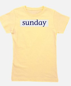Unique Days of the week Girl's Tee