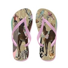 Wild And Free Flip Flops