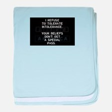Cute Atheist quotes baby blanket
