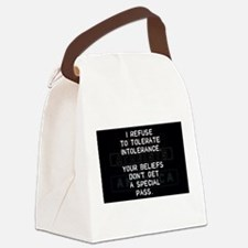 Cool Atheist quotes Canvas Lunch Bag