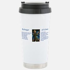 St Francis Prayer Travel Mug