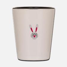 Nerd Rabbit Shot Glass