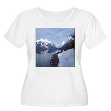 Lake McDonald In Glacier Park Women's Plus Size Sc