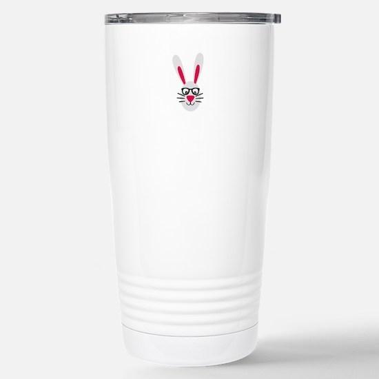 Nerd Rabbit Stainless Steel Travel Mug