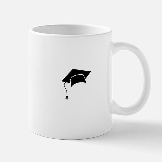 Graduation hat Mugs