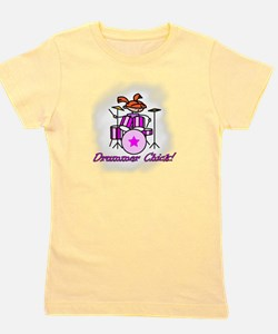 Funny Drums Girl's Tee