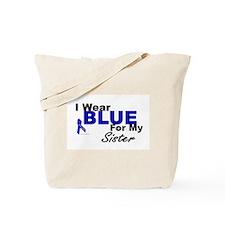 I Wear Blue 3 (Sister CC) Tote Bag
