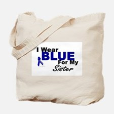 I Wear Blue 3 (Sister CC) Tote Bag