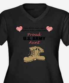 Funny Support our troops Women's Plus Size V-Neck Dark T-Shirt