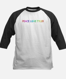 Peace Love Tyler Baseball Jersey