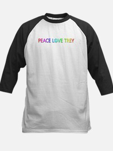 Peace Love Trey Baseball Jersey