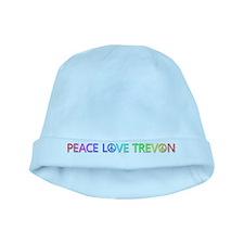 Peace Love Trevon baby hat