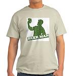 BEER MAN - st. patty's day Ash Grey T-Shirt