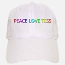 Peace Love Tess Baseball Baseball Baseball Cap