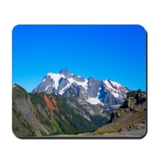 Blue Sky Mt. Shuksan Mousepad
