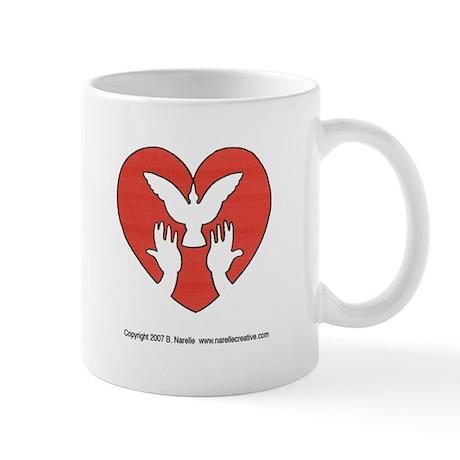 HeartDove Mug