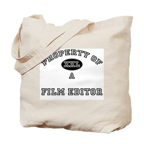 Property of a Film Editor Tote Bag