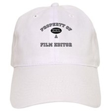 Property of a Film Editor Baseball Cap