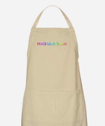 Peace Love Talon Apron