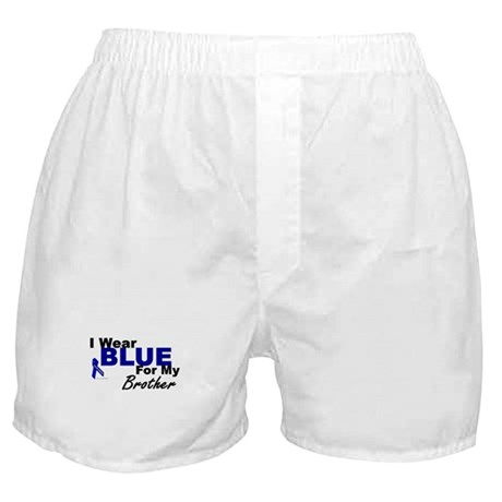 I Wear Blue 3 (Brother CC) Boxer Shorts