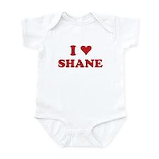 I LOVE SHANE Infant Bodysuit