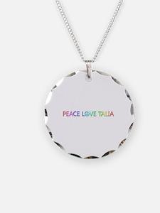 Peace Love Talia Necklace