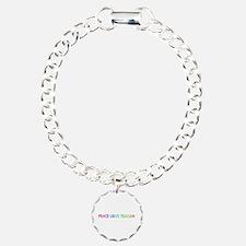 Peace Love Teagan Bracelet